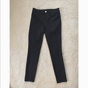 Ann Taylor Skinny Ponte Pant in Black